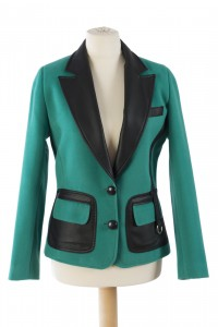 Sacou Green & Leather