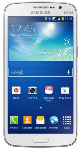 Folie sticla Samsung Galaxy Grand 3 securizata 2.5D protectie display