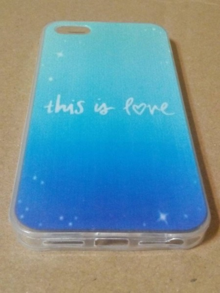Carcasa iPhone 5 5S 5G - husa spate protectie, model This is love