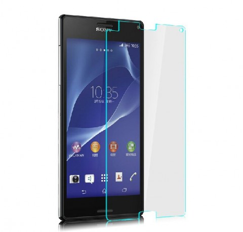Folie sticla Sony Xperia Z3 Compact - tempered glass ecran geam display lcd telefon