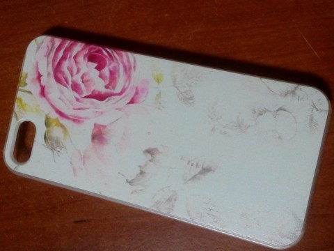 Carcasa iPhone 5 5G 5S husa protectie spate, model floral