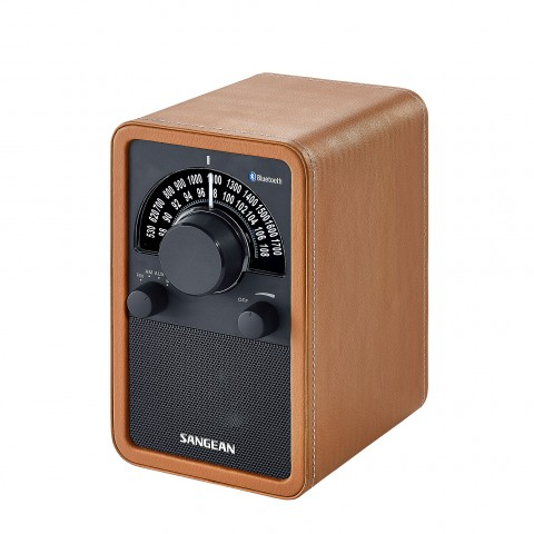 Aparat radio AM/FM Sangean WR-15 Leather Bluetooth