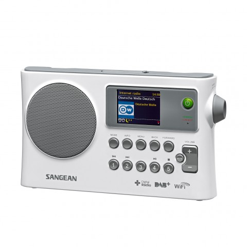 Receptor radio FM / DAB+ / Internet & Network music player Sangean WFR-28C
