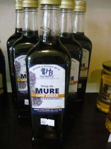 Sirop de mure - low sugar
