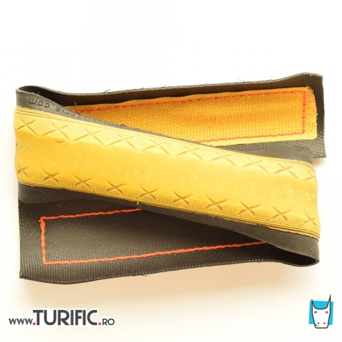 Tyre pants strap * YELLOW * single strap