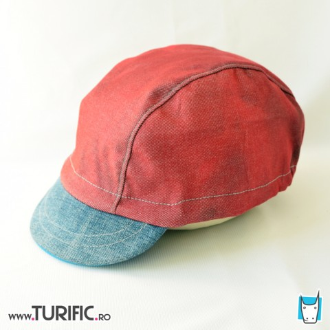 Elytron cool cap * Grena cu jeans upcycled